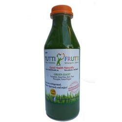 Green cold pressed juice